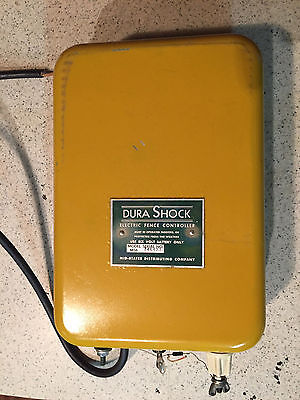 Dura Shock Electric Fence Controller Model MS6