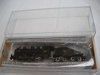 Bachmann 50565 USRA 0-6-0,Central NJ 106,Switcher Steam Locomotive Engin,N Scale