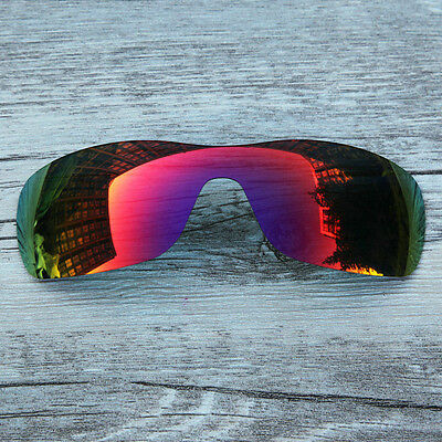 Inew fire ruby red  polarized Replacement Lenses For-Oakley antix