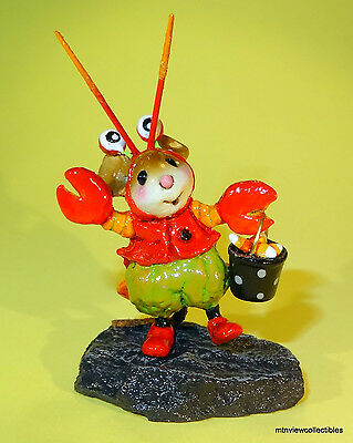Wee Forest Folk M-491 Happy Lobster Treater!