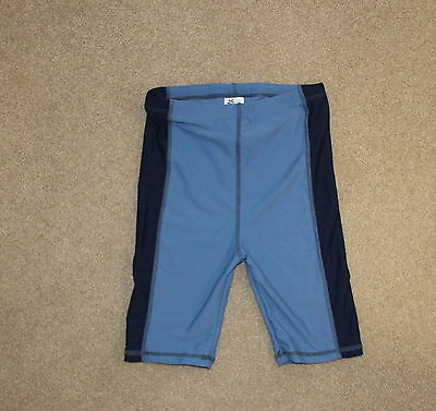 Boys size 8 Cancer Council UPF50+ swimwear pants / pull on boardshorts - AS NEW
