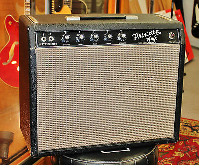 VINTAGE PRE-CBS '64 FENDER PRINCETON AMP { Original & Clean! } FREE SHIPPING!