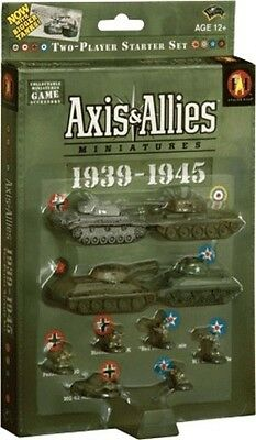 Axis&Allies miniatures 1939-1945 STARTER SET Sealed Cromwell IV Panzer III T-34
