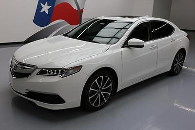 2015 Acura TLX  2015 ACURA TLX V6 TECHNOLOGY SUNROOF NAV HTD SEATS 28K #024362 Texas Direct Auto