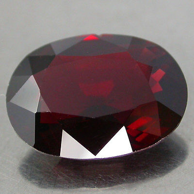 RARE!! 4.13Cts. HUGE! AWESOME TOP RED 100%NATURAL UNHEATED SPINEL OV BURMA