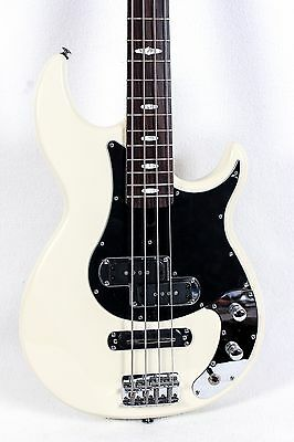 Yamaha BB424X Electric Bass Guitar, Vintage White, SWITCH ISSUE