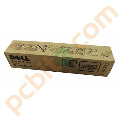 Genuine Dell HG308 5100cn Yellow Toner Cartridge