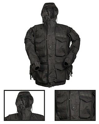 Smock ′teesar®′ Gen.ii Schwarz Military Outdoor Army Security Paintball Airsoft