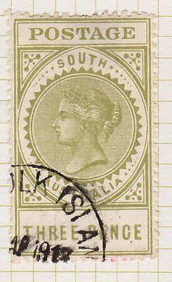 South Australia State stamp used Norfolk Island 1913