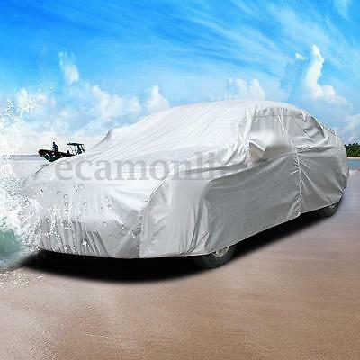 Universal Large L Full Car UV Wind Dust Water Resistant Outdoor Protection Cover