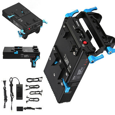 FOTGA DP500III BP V-mount Power Supply Battery Plate for Sony A7 A7R A7S A7II AU