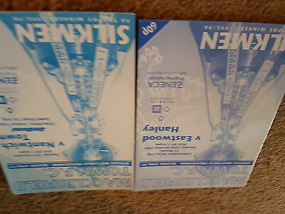 Macclesfield Town V Eastwood Hanley And V Nantwich Chesh And Staffs Cups 96-7