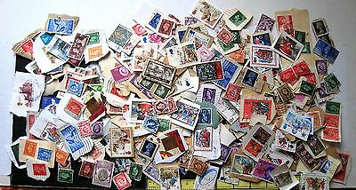 GB MIXTURE ALL REIGNS ON & OFF PAPER, UNSORTED, UNCHECKED, APPROX. 2oz. LOT#175