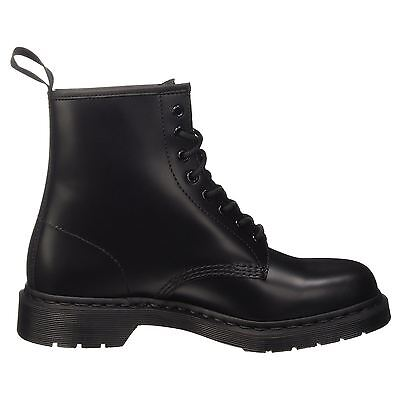 Dr.Martens 1460 8 Eyelet Mono Smooth Black Mens Boots