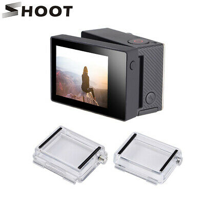 SHOOT LCD BacPac Display Viewer Monitor Screen+Rear Door Case for GoPro Hero 3