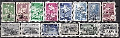 Finland Commemoratives (9D) Used