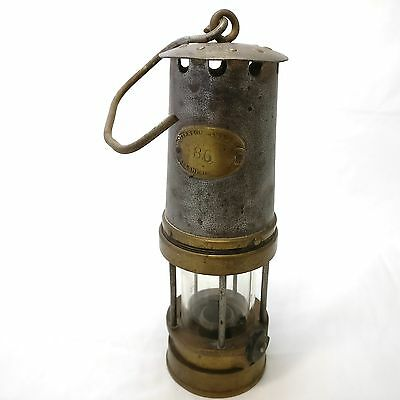 Genuine Gateshead Miners Davy Lamp, Patterson Lamps No. 86