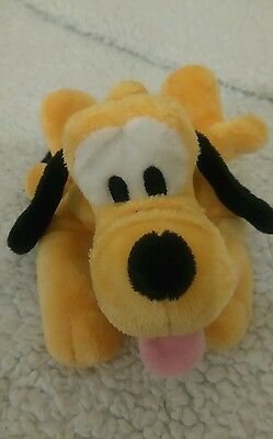 Pluto Disney store soft toy