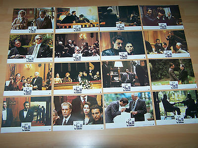 GODFATHER - PART 3 - set of 16 lobby cards ´91 - AL Pacino ANDY GARCIA