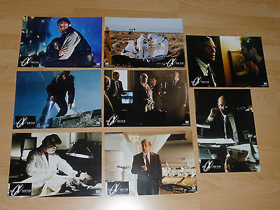 THE X-FILES - set of 8 lobby cards ´98 - DAVID DUCHOVNY Gillian Anderson