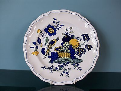 "Very Attractive Spode ""Blue Bird"" Pattern, 10.5"" Plate"