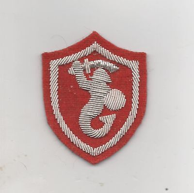 WW2 Polish Army 2nd Corps sleeve patch,Officer type, reproduction