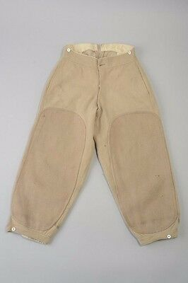 Fine Early C20th Well-weathered Bedford Cord Riding Breeches. UAH