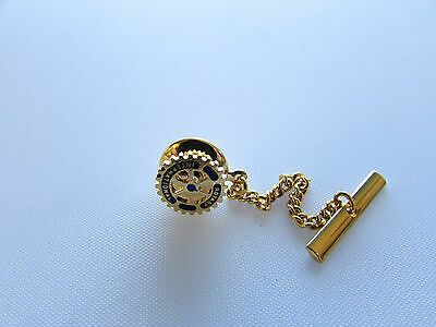 Rotary Club  Tie Tack Gold Plated