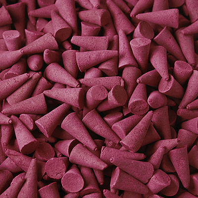 ~100~ Genuine Ancient Wisdom~Strawberry~Loose Indian Incense Cones~uk seller~