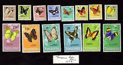 Stamps ~ TANZANIA BIRDS ISSUE Unused ~ Mixed Unsorted