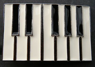 Piano Keys Keyboard Musical Music Instruments Notes Belt Buckle Boucle Ceintures