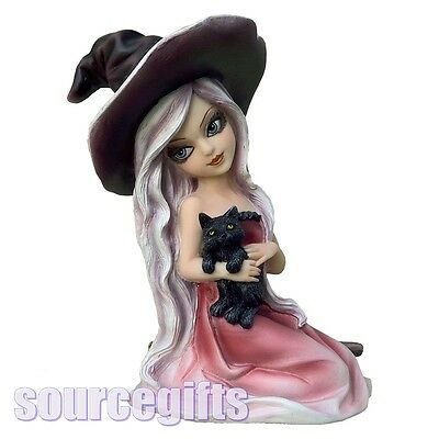 New * Rosa *  Witch Statue Figurine Ornament From Nemesis Now With Free Post