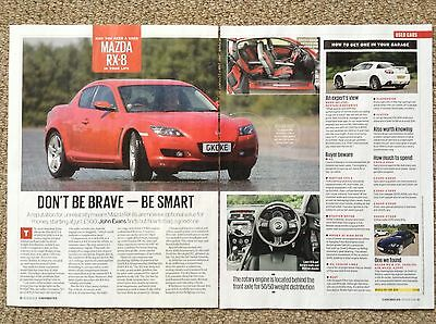 MAZDA RX-8 - Buying Guide Article