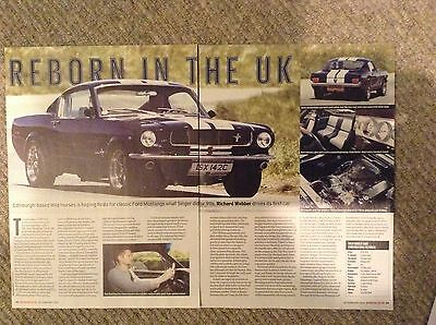 FORD MUSTANG  - Classic Test Article