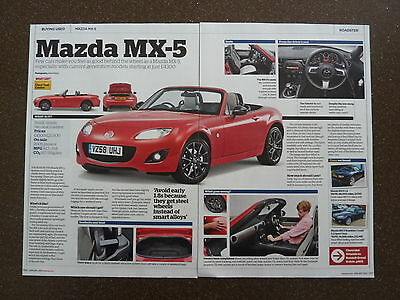 MAZDA MX-5 - Used Buying Guide Article