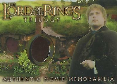 "Lord of the Rings Trilogy - ""Sam's Elven Tunic"" Costume Memorabilia Card"