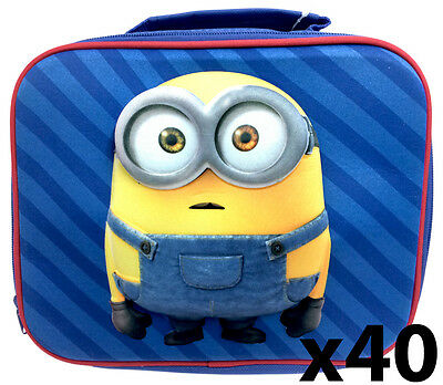 Wholesale Set of 40 Minions - Universal Studios - 3dD Insulated Lunch Bags