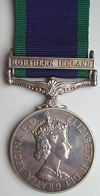 Medal - General Service Medal Clasp Northern Ireland Royal Anglian