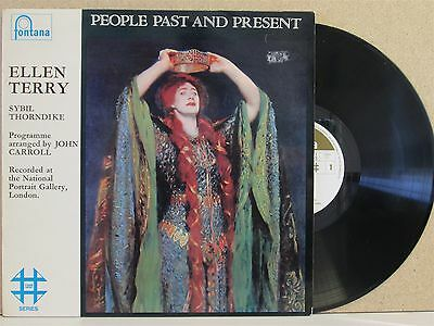 Ellen Terry & Syblil Thorndike- People Past And Present LP (Live, A Portrait of)