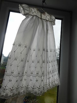 vintage christening gown, 1950s Rob Roy. Unused.