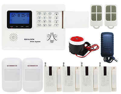 B65 IOS/Android APP GSM PSTN Wireless Office Home Security Alarm Burglar System