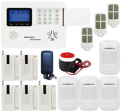 B60 IOS/Android APP GSM PSTN Wireless Smart Home Security Alarm Burglar System
