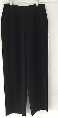 Marks & Spencer Ladies Black Trousers - Size 14
