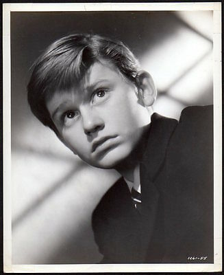 Roddy McDowell LASSIE COME HOME 1943 Vintage Orig Photo handsome CHILD ACTOR