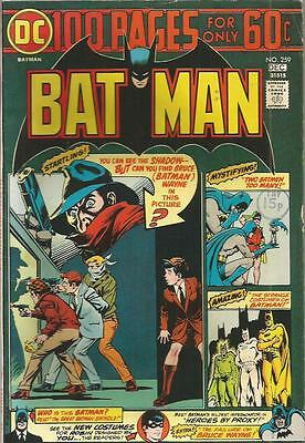Batman  No  259  December 1974   The Shadow  100 Pages