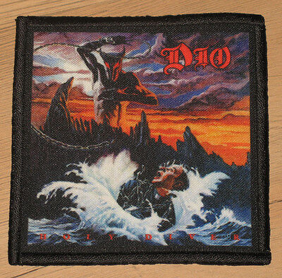 """DIO """"HOLY DIVER"""" silk screen PATCH"""