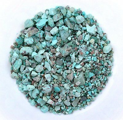 1/2 Ounce Natural Morocco Turquoise Nugget Craft Grade 1/2  Inch And Less Rough