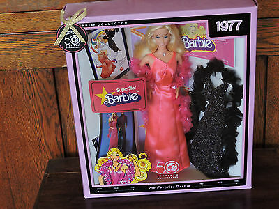 My  Favorite Barbie Reproductio 1977 (Superstar)  50th Anniversary Giftset N4978