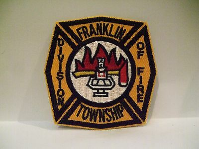 fire patch  FRANKLIN TOWNSHIP FIRE DEPT WYOMING