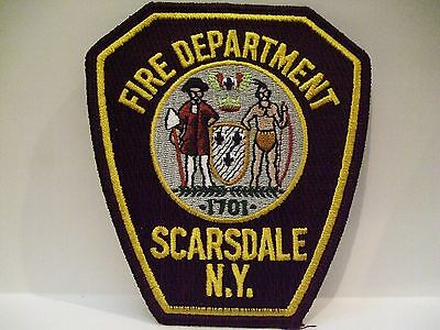 fire patch  SCARSDALE FIRE DEPT NEW YORK